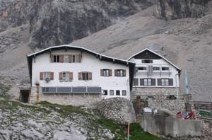Knorrhütte Zugspitz, DAV